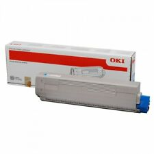 GENUINE Original OKI MC861 / MC861+ Cyan Toner Cartridge p/n 44059255 (B)