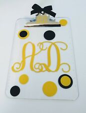 Personalized Clipboard - teacher appreciation gift coach nurse custom clipboard