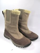 Timberland Winter Pull On  Boots Womens Size 7.5 Brown EUC