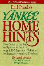 Earl Proulx's Yankee Home Hints: From Stains on the Rug to Squirrels-ExLibrary