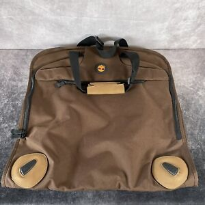 TIMBERLAND Brown Suit Travel Storage Holder Dust Bag Cover Garment Protector