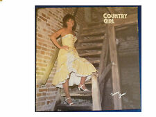 TAMMY JONES * COUNTRY GIRL * SIGNED VINYL LP BLUE WATERS MSBWL 1 PLAYS GREAT