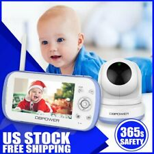 Dbpower Monitor Digital Sound Activated Video Record Baby 4.3-Inch Color Lcd New