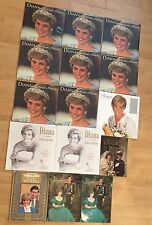Collection of Princess Diana Calendars (sealed) & Books