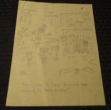 Ralph Hershberger One-Panel Gag Cartoon 8.5x11 Pencil Signed