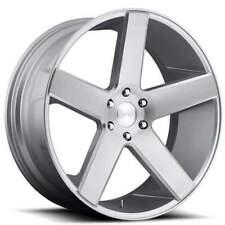 "4ea 24"" Dub Wheels Baller S218 Brushed Silver Rims (S4)"