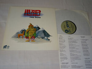 ILLAPU - RAZA BRAVA / GERMANY PLÄNE-VINYL-LP 1981 (EX) & INLET