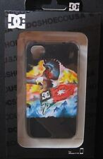 NEW in box DC ShoeCO iPhone 4/4S Case Black with Eagle and DC FLAG image