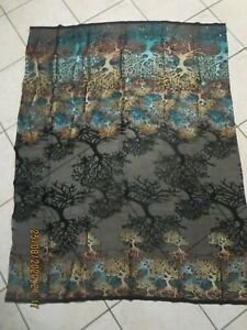 Imported Embellished Chiffon Material - 130cm x 100cm - O62