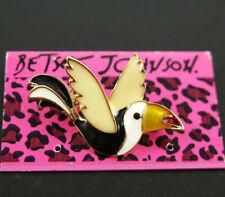 glaze lovely bird Brooch women jewelry New Betsey Johnson Fashion Jewelry Enamel
