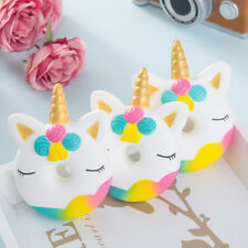 Unicorn Donut Cake Squishies Cream Scented Slow Rising Kids Stress Relief Toys S
