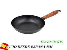 Sarten Antiadherente De Hierro Fondo Plano Con Mango Apto Para Todas Las Cocinas