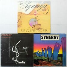 SYNERGY  LOT OF 3 LPs #1666