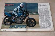 Motorrad 19848) Honda CB-1 mit 57PS im TEST auf 6 Seiten