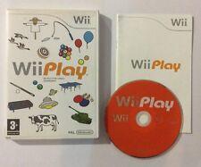 Jeu Wii Play