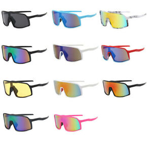 Mens Womens Outdoor Sports Cycling Bike Running Sunglasses Lens Goggle Glasses