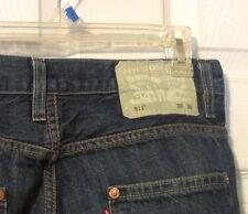 Men's Levi's 511 slim straight SELVEDGE blue denim jeans 30x30 Patented May 1873