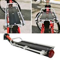 Bicycle Rack Bike Luggage Carrier Rear Racks Reflector Shelf Cycling Seat Stand