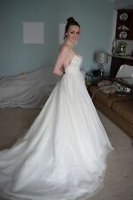 Wtoo Watters Ivory Wedding Dress, Gown, New With Tags, Never Worn, Size 2 Small