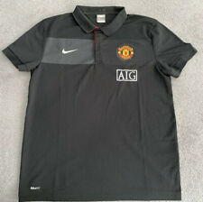 MANCHESTER UNITED NIKE MUFC 2009/2010 POLO SHIRT MENS LARGE