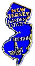 New Jersey the Garden State Souvenir Fridge Magnet