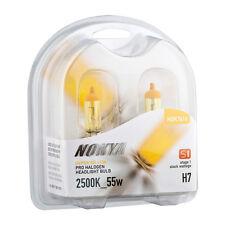 Nokya Hyper Yellow H7 55W 2500K S1 Headlight Fog Light Halogen Bulb NOK7616