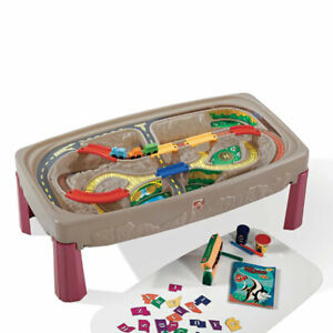 Step2 754700 Deluxe Multipurpose Multi Level Canyon Road Track and Train Table
