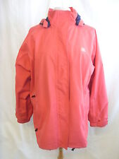 Mens Coat - Trespass, size XL, reddy/pink, water/wind proof, taped seams - 0854