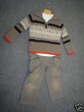 Wi 10- CATIMINI Urbain Pantalon en velours côtelé, gris gr. gr.8a
