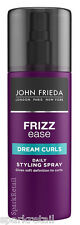 John Frieda Frizz Ease DREAM CURLS Daily Styling Hair Spray 200ml Frizzy/Curly