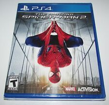 The Amazing Spider-Man 2 for Playstation 4 Brand New! Factory Sealed!