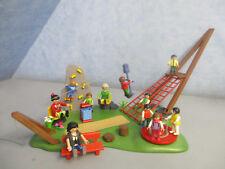 4015 Abenteuer Spielplatz Kletterwand Seilrutsche zu 6657 Kita Playmobil 3324