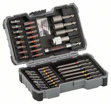 Bosch 43tgl. Bit- und Steckschlüssel-Set mit magnetischem Halter 2607017164