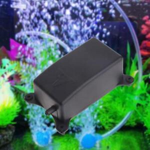 Aquarium Air Pump Fish Tank Mini Air Compressor Oxygen Aquarium L0C0 M7T1 E9E5