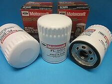 3 Genuine FORD Engine Oil Filter Motorcraft FL-500S Replace OEM# AA5Z6714A