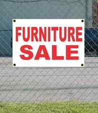 2x3 FURNITURE SALE Red & White Banner Sign NEW Discount Size & Price FREE SHIP