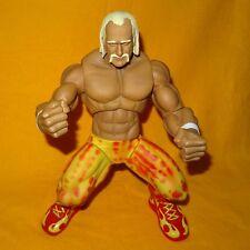 """2005 Jakks WWE World Wrestling Ring Giants HULK HOGAN 14"""" poseable Action Figure"""