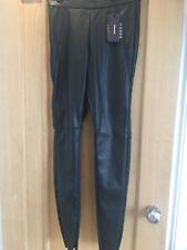 VERO MODA PVC Faux Leather Leggings Size 8. NEW