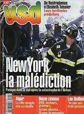 VSD N°1264 new york marita lorenz castro mick jagger lou doillon les L5  2001