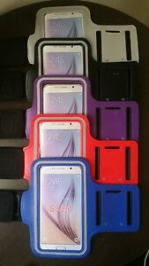 Adjustable Sports Gym Workout Armband Phone Holder For Samsung S5/S6/S6 Edge