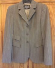 Ladies Size 10 Per Una Fully Lined Beige, vgc cream Jacket