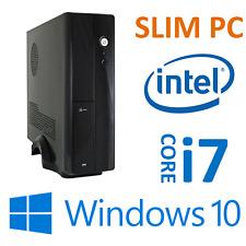 MINI PC: INTEL i7 9700F 8x 4,7GHz - 16GB -  480GB SSD - 2GB GT 1030 Windows 10