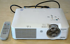 Sharp Notevision PG-A10X LCD Projector, with case & 2 additional 25ft VGA cables