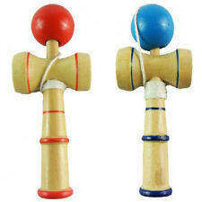 1pc Kid Kendama Ball Japanese Health Traditional Wood Game Balance Skill Toy KY