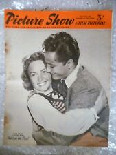 1952 PICTURE SHOW- John Derek,Donna Reed in IDOLS IN THE DUST, 22 March