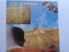 LED ZEPPELIN misty mountain crop LIVE IN BUFFALO 1973 PART 1 RARE 1991 silver cd