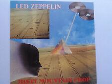 LED ZEPPELIN misty mountain crop LIVE IN BUFFALO 1973 PART 1 RARE 1991 silver cd