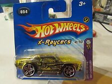 Hot Wheels '69 Chevelle #054 X-Raycers 2005 First Editions Short Card