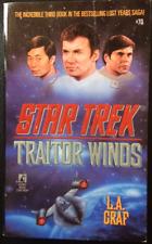 STAR TREK Traitor Winds Book Novel