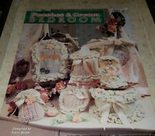 AG013 ANNIE'S ATTIC 1996, PEACHES & CREAM BEDROOM ~ 17 CROCHETED DESIGNS